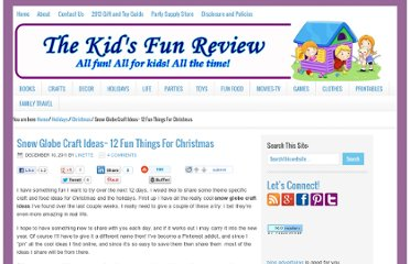 http://kidsfunreviewed.com/snow-globe-craft-ideas-12-fun-things-for-christmas/