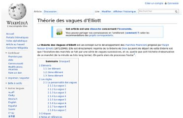 http://fr.wikipedia.org/wiki/Th%C3%A9orie_des_vagues_d%E2%80%99Elliott