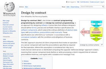 http://en.wikipedia.org/wiki/Design_by_contract