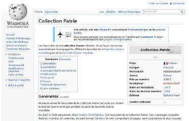 http://fr.wikipedia.org/wiki/Collection_Patrie