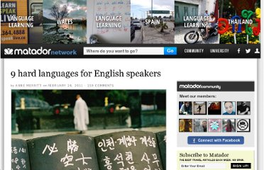 http://matadornetwork.com/abroad/9-of-the-hardest-languages-for-english-speakers-to-learn/