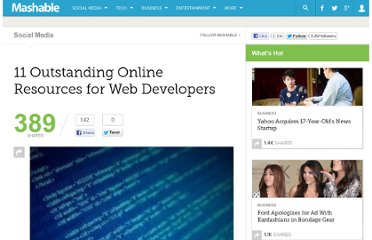 http://mashable.com/2010/02/03/web-development-resources/
