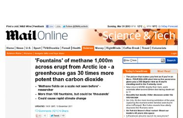http://www.dailymail.co.uk/sciencetech/article-2073686/Fountains-methane-1-000m-erupt-Arctic-ice--greenhouse-gas-30-times-potent-carbon-dioxide.html
