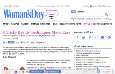http://www.womansday.com/style-beauty/beauty-tips-products/5-tricky-beauty-techniques-made-easy-123698