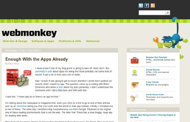 http://www.webmonkey.com/2011/12/enough-with-the-apps-already/