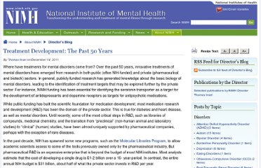 http://www.nimh.nih.gov/about/director/2011/treatment-development-the-past-50-years.shtml