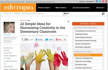 http://www.edutopia.org/blog/creativity-in-classroom-trisha-riche