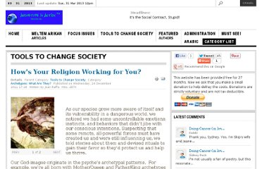 http://www.archetypeinaction.com/index.php/tools-to-change-society/40-religion-a-spiritual-practices/549-hows-your-religion-working-for-you