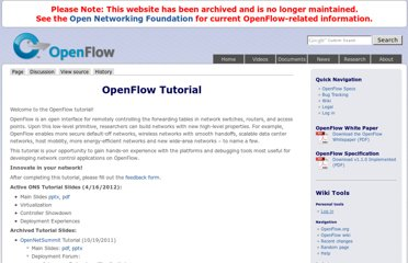http://www.openflow.org/wk/index.php/OpenFlow_Tutorial