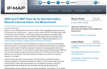 http://www.if-map.org/blog/geni-and-if-map-team-next-generation-network-instrumentation-and-measurement
