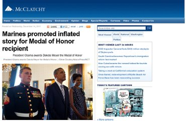 http://www.mcclatchydc.com/2011/12/14/133134/medal-of-honor-inflated-story.html