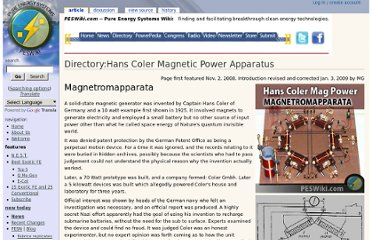 http://peswiki.com/index.php/Directory:Hans_Coler_Magnetic_Power_Apparatus#The_Stromerzeuger