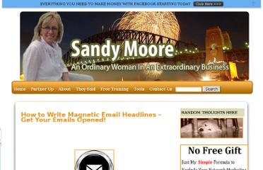 http://whoissandymoore.com/how-to-write-magnetic-email-headlines-%e2%80%93-get-your-emails-opened/