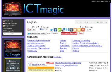 http://ictmagic.wikispaces.com/English