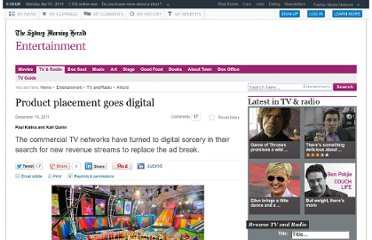 http://www.smh.com.au/entertainment/tv-and-radio/product-placement-goes-digital-20111214-1otjy.html