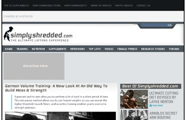 http://www.simplyshredded.com/german-volume-training-a-new-look-at-an-old-way-to-build-mass-strength.html