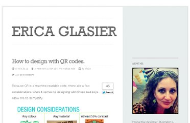 http://ericaglasier.com/2011/02/28/how-to-design-with-qr-codes/