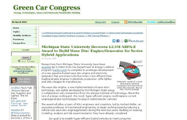 http://www.greencarcongress.com/2009/10/michigan-state-university-receives-25m-arpae-award-to-build-wave-disc-enginegenerator-for-series-hyb.html