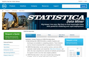 http://www.statsoft.com/products/statistica-data-miner/