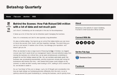 http://betashop.com/post/14249821547/behind-the-scenes-how-fab-raised-40-million-with-a
