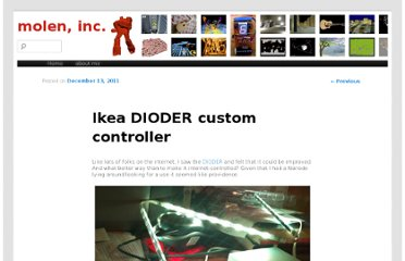 http://alexmole.co.uk/2011/12/ikea-dioder-custom-controller/