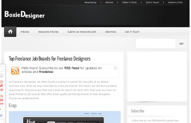 http://boxiedesigner.com/freelancing/top-freelance-job-boards-for-freelance-designers/