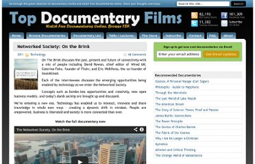 http://topdocumentaryfilms.com/networked-society-on-the-brink/