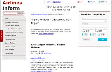 http://airport.airlines-inform.com/airport-reviews/
