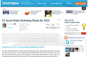 http://www.dreamgrow.com/21-social-media-marketing-trends-for-2012/