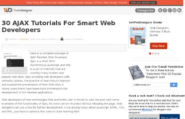 http://www.1stwebdesigner.com/tutorials/ajax-tutorials-smart-web-developers/