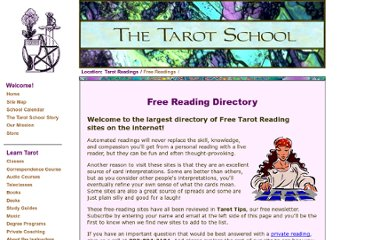 http://www.tarotschool.com/FreeReadings.html