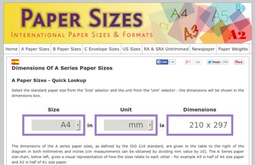 http://www.papersizes.org/a-paper-sizes.htm