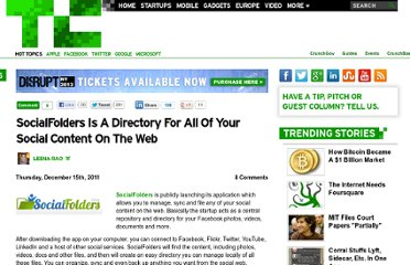http://techcrunch.com/2011/12/15/socialfolders-is-a-directory-for-all-of-your-social-content-on-the-web/