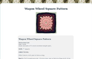 http://allcraftsblogs.com/crochet_square_patterns/wagon_wheel_square/wagon_wheel_square.html