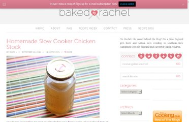 http://www.bakedbyrachel.com/2011/09/homemade-slow-cooker-chicken-stock/