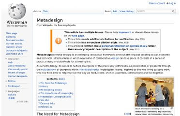http://en.wikipedia.org/wiki/Metadesign