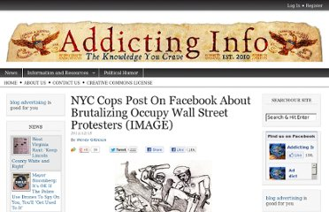http://www.addictinginfo.org/2011/12/15/nyc-cops-post-on-facebook-about-brutalizing-occupy-wall-street-protesters-image/