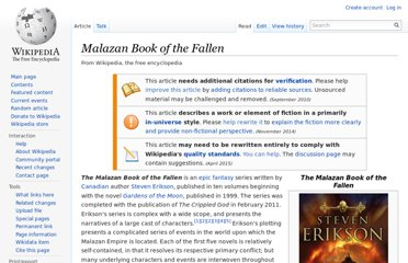 http://en.wikipedia.org/wiki/Malazan_Book_of_the_Fallen