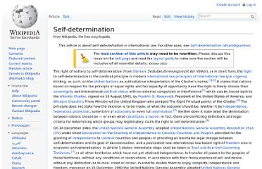 http://en.wikipedia.org/wiki/Self-determination