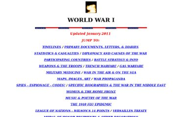 http://www.teacheroz.com/wwi.htm#docs