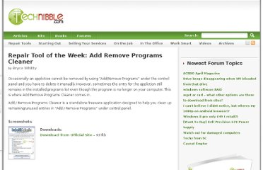 http://www.technibble.com/repair-tool-of-the-week-add-remove-programs-cleaner/#more-1035