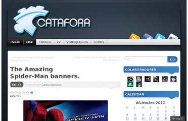 http://catafora.com/2011/12/13/the-amazing-spider-man-banners/