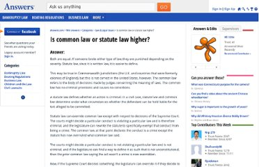 http://wiki.answers.com/Q/Is_common_law_or_statute_law_higher