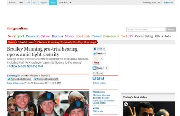 http://www.guardian.co.uk/world/2011/dec/16/bradley-manning-military-hearing-wikileaks