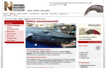 http://www.nhm.ac.uk/visit-us/galleries/gallery-announcements/index.html