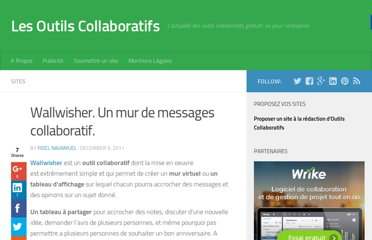 http://outilscollaboratifs.com/2011/12/wallwisher-un-mur-de-messages-collaboratif/