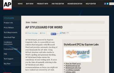 http://www.apstylebook.com/?do=product&pid=style-guard