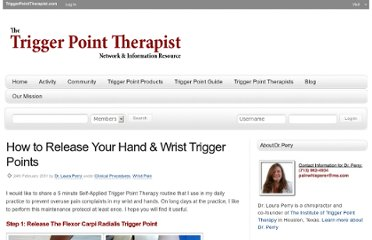 http://www.triggerpointtherapist.com/blog/wrist-pain-trigger-points/how-to-release-wrist-trigger-points/