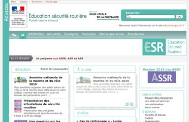 http://eduscol.education.fr/education-securite-routiere/