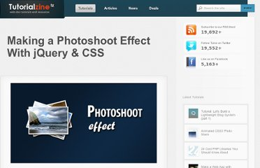 http://tutorialzine.com/2010/02/photo-shoot-css-jquery/